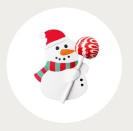 Sneeuwpop lollie