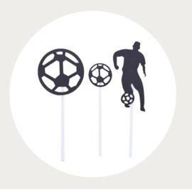 Voetbal decoratie set 1