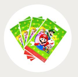 Traktatie zakjes / uitdeelzakjes Super Mario