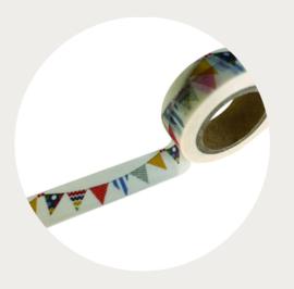 Washi tape vlaggetjes 4