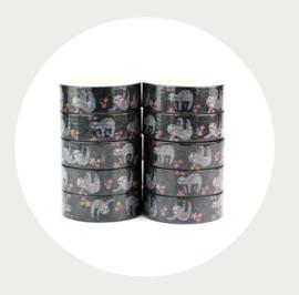 Washi tape luiaard