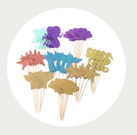 Cupcake prikkers Zee
