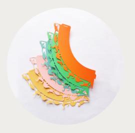 cupcake wrapper / wikkel dinosaurus multi