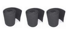 NAUTIX BOOM RE-GRIP SET (BLACK) - 1270 X 110 MM X 3 STRIPS/alleen de grip/let op  ! goed meten of bij formulagieken de 11cm voldoende is