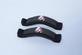 Ascan Vario voetband per stuk incl. gratis : 2X m6x32mm parker + 2 anti twist plaatje (set voor 1 voetband)
