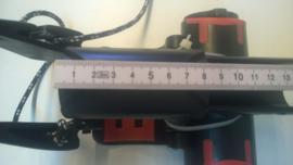 Giekkop 29-30mm buis-incl.shim-uit overjarige partij