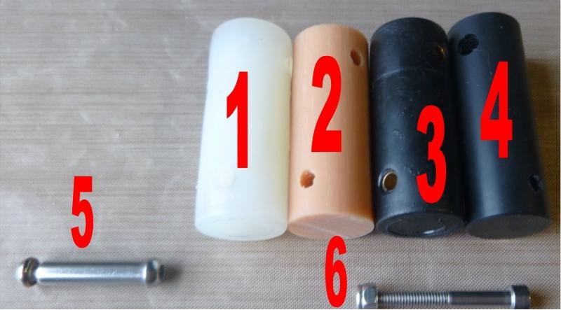 Nr. 5 /m6 bus 28mm lang/prijs per stuk