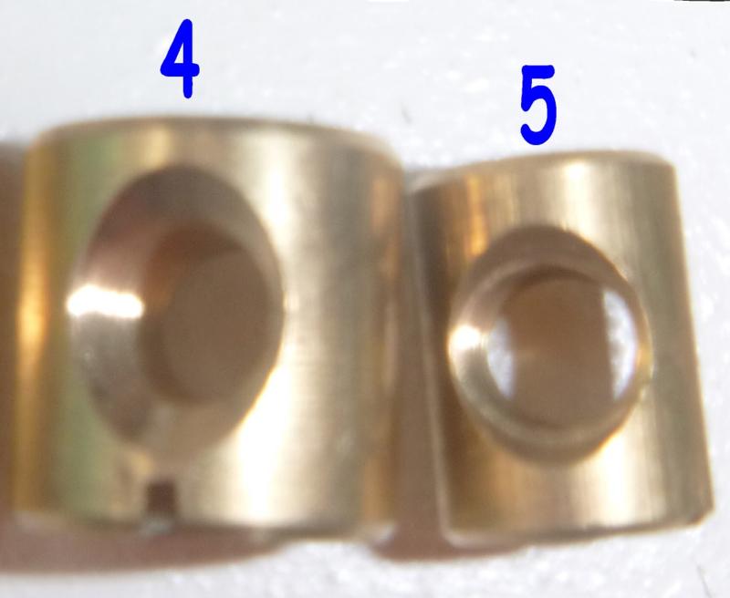 No.5 /Viento Surfparts 9mm vin insert/fin insert