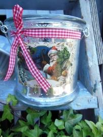 windlicht kersttafereel, Countryfield LAATSTE !!!!