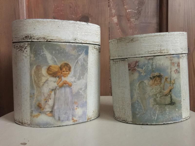 """Decoratieve doosjes """"angels"""""""