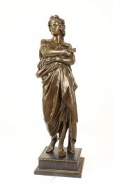 Bronzen beeld van augustus