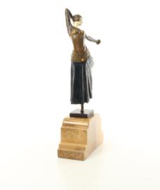 Bronzen Chiparus beeld Ayouta