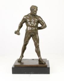 Bronzen beeld van Hercules Pomarius