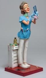 beeldje de vrouwelijke tandarts