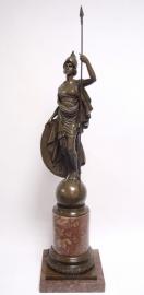 Bronzen beeld van ATHENA GIUSTINIANI