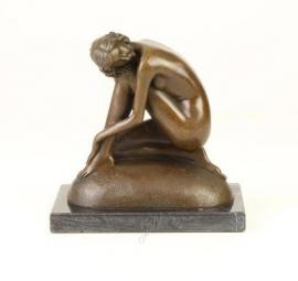 Bronzen beeld genaamd de droom