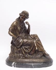 Bronzen beeld  genaamd het liefdeslied