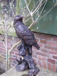 Bronzen eagle-adelaar