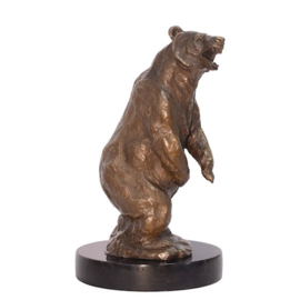 Bronzen Bruine staande beer