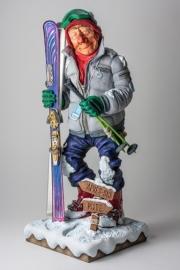 skiër beeldje van Forchino