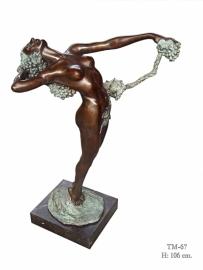 Bronzen beeld genaamd de wijnstok