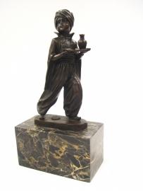 Bronzen beeld OOSTERSE OBER