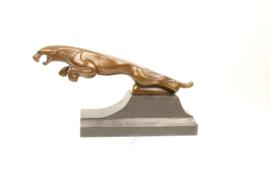 Bronzen roofdieren beelden