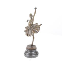 Gedetailleerd Bronzen ballerina