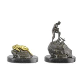 Weens brons genaamd de schatzoeker