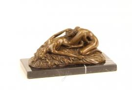 Bronzen erotische lesbische vrouwen