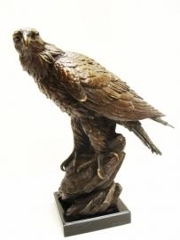 Bronzen  beeld  van een adelaar