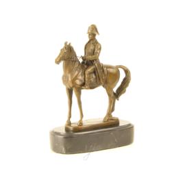 Brons beeld napoleon te paard