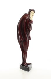 Bronzen beeld Mephistopheles