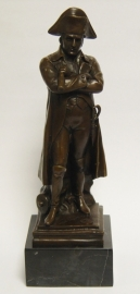 Bronzen beeld van napoleon