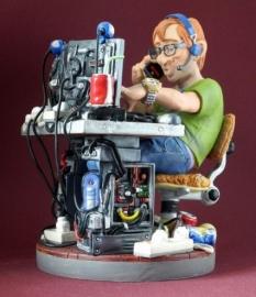 Beeldje Computer programmeur