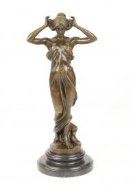 BronzenBeeld van de nimf van de vallei