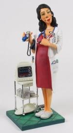 Vrouwelijke dokter van Forchino