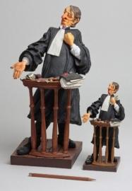 Beeldje Advocaat  van Forchino