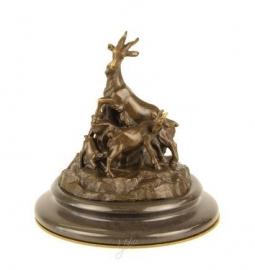 Bronzen geiten familie