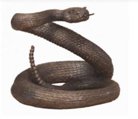 Bronzen ratelslang