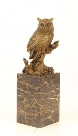 Bronzen uil