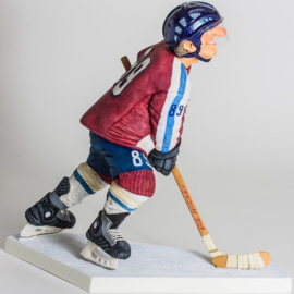 beeldje van Guillermo Forchino DE ijshockeyer