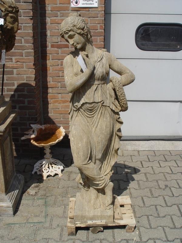 Standbeeld de bloemenvrouw