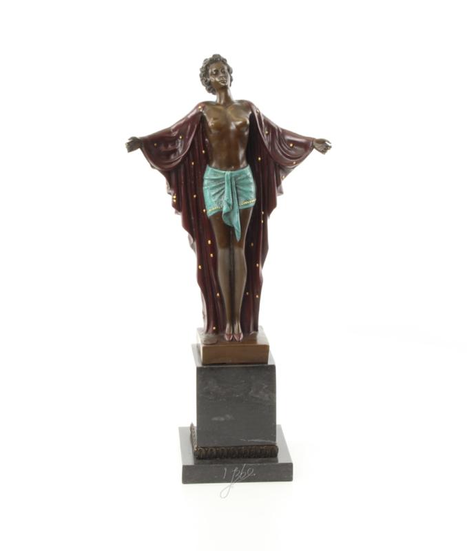 Een bronzen beeld genoemd Spring Awakening