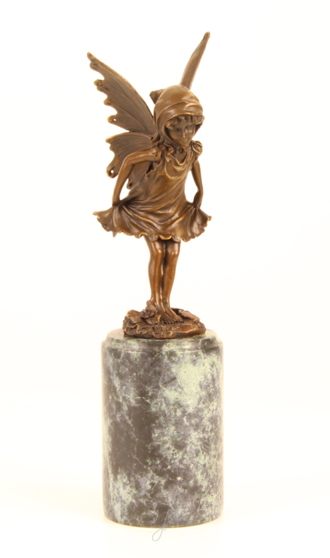 Bronzen beeld van Fee (fairy)