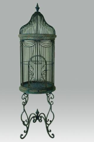 vogelkooi van ijzer