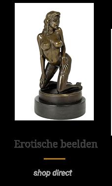 Erotische bronzen beelden