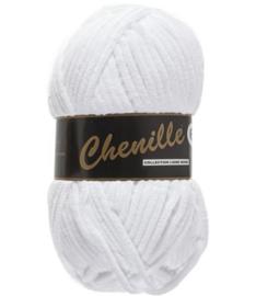 Chenille 6 White