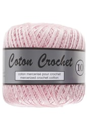 Coton Crochet 10 - Powder Pink 370