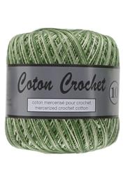 Coton Crochet 10 - Multi groen